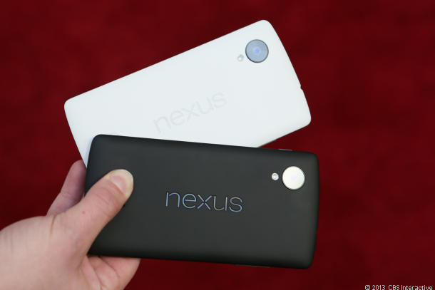 Google Nexus 5 (black and white)