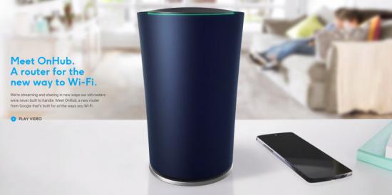 Google lanseaza OnHub: un router de 200 de dolari