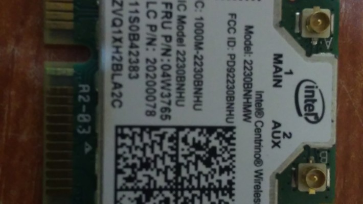 Modul Wi-fi Lenovo E530