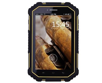 No.1 X5, prima tabletă rezistentă la apă – IP67 de 7-inch cu 4G LTE